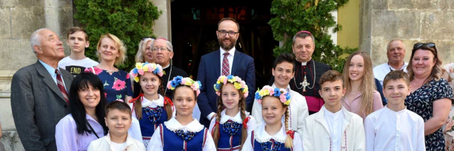 30-Lecie odzyskania Katedry w Kamieńcu Podolskim