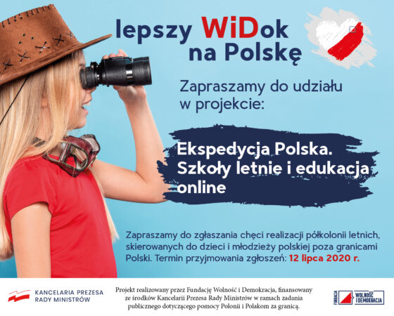 """""""Ekspedycja Polska. Szkoły letnie i edukacja online"""""""