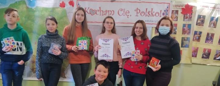 """""""Kocham Cię Polsko!"""". Gra edukacyjna w Kamieńcu Podolskim"""