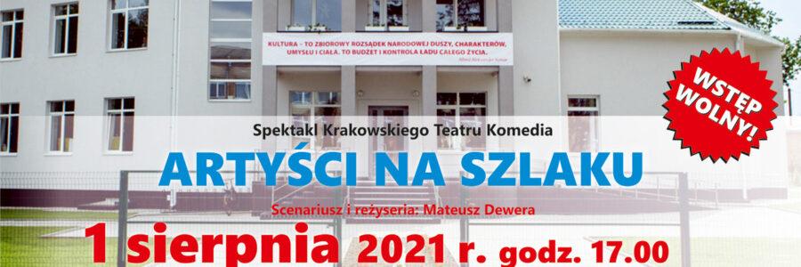 """Spektakl """"ARTYŚCI NA SZLAKU"""" w Domu Polskim w Barze"""